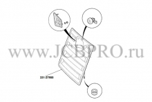 Решетка радиатора JCB 3CX 331/27955
