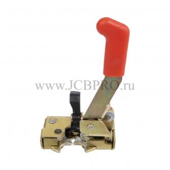 Ручка защелка двери JCB левая 826/11105, 332/A9108, 826/11627
