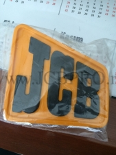 Эмблема на решетку радиатора (старая модель) JCB