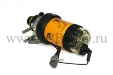 Корпус топливного фильтра в сборе с датчиком загрязнения JCB 332/C7113