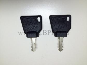 Ключ зажигания JCB 701/45501