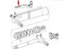 Гидроцилиндр заднего ковша JCB 557/60210, 557/60138, 557/60153