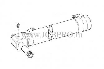 Гильза гидроцилиндра рукояти задней стрелы JCB 561/70177