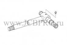 Шток рукояти задней стрелы JCB 590/40599