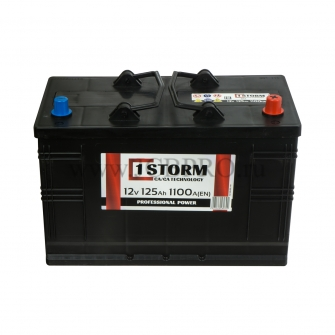 Аккумулятор JCB STORM 125 А/ч 729/10655