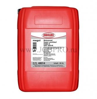 Масло моторное синтетическое Meguin Super Leichtlauf FAMO R 10w-40 (20 л)
