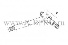 Шток рукояти задней стрелы JCB 590/40136