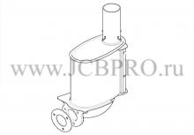 Глушитель (резонатор) JCB 331/50774
