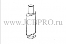 Глушитель (резонатор) JCB 993/66300