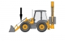 Гидроцилиндр опрокидывания переднего ковша JCB 556/60360, 556/60338, 556/60362