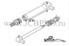Гидроцилиндр челюсти JCB 556/60367