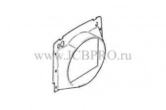 Диффузор вентилятора JCB 123/05898