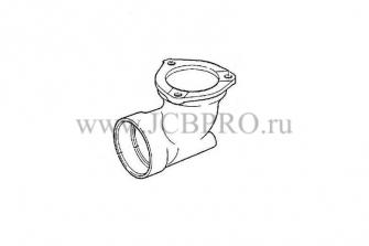 Коллектор турбокомпрессора АВ JCB 02/200502