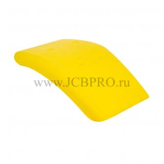 Крыло переднее левое желтое JCB 123/02950