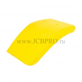 Крыло переднее правое желтое JCB 123/02951