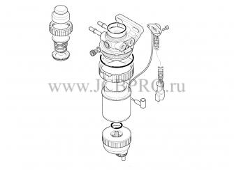 Насос топливный фильтра JCB 32/925717