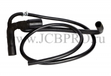 Патрубок радиатора нижний JCB 834/10597