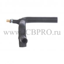 Патрубок радиатора нижний JCB 834/00211
