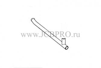 Патрубок радиатора нижний JCB 834/00263