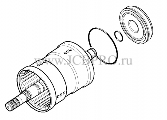 Синхронизатор переключения передач КПП JCB 459/50660