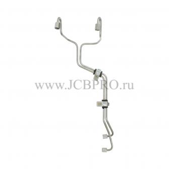 Топливные трубки 3 и 4 цилиндра JCB 320/06554