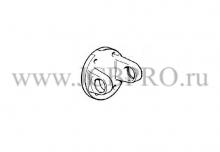 Фланец кардана помпы плоская часть JCB 914/35001