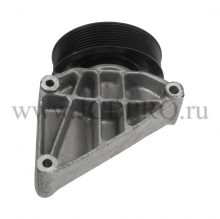 Шкив ролик опорный обводной с кронштейном JCB 320/08624