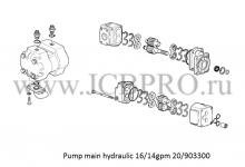 Гидравлический насос JCB 20/903300