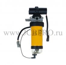 Корпус топливного фильтра в сборе JCB 12V 332/D6723, 32/925949, 320/07065