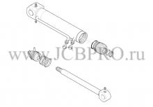 Гидроцилиндр челюсти JCB 556/60331