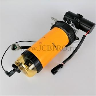 Фильтр топливный ФГО в сборе JS (электро 12V) 32007458, 32007457, 320A7060, 32007065 (фильтр 994)