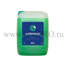 Антифриз Octafluid G11 Green 10л