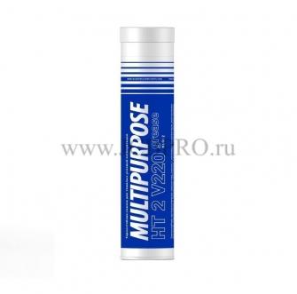 Смазка термостойкая противозадирная пластичная Multipurpose HT патрон 400 гр